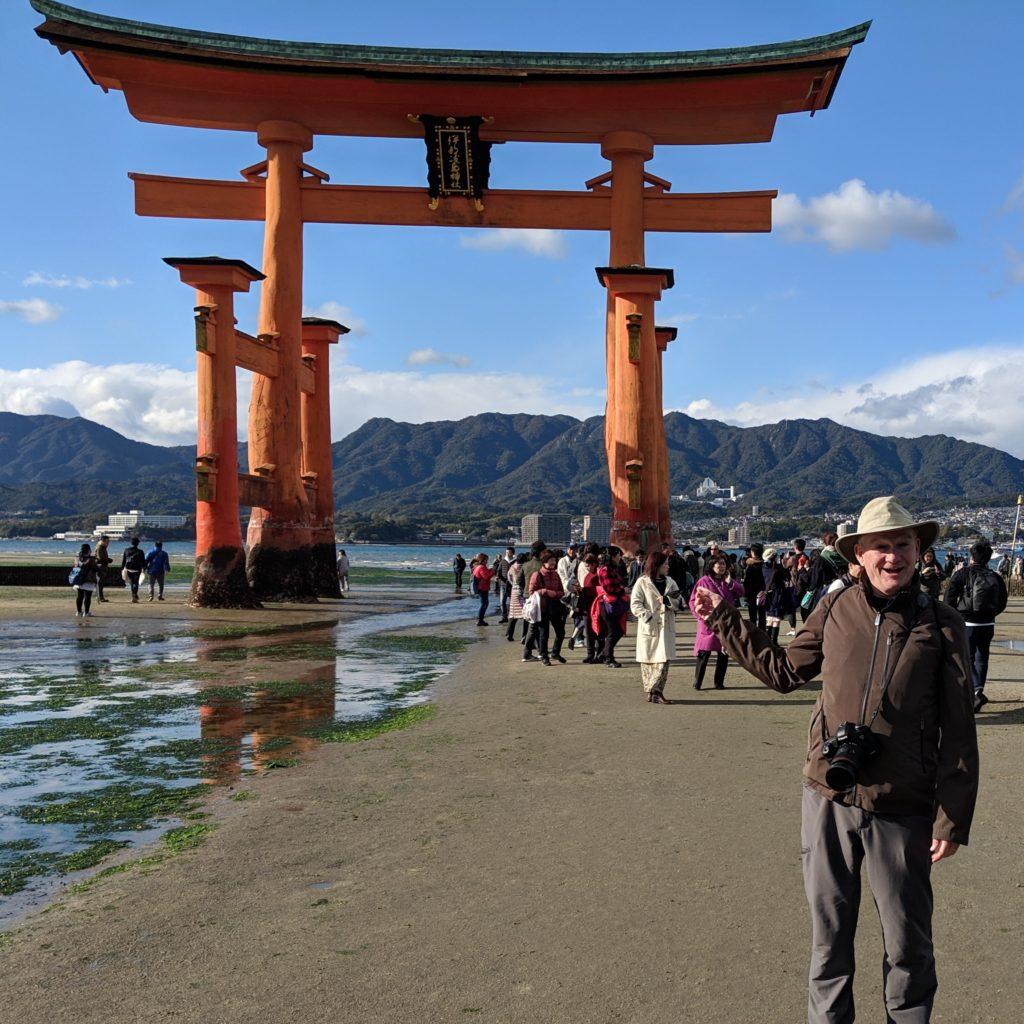 Itsukushima Torii Gate on Miyajima Island