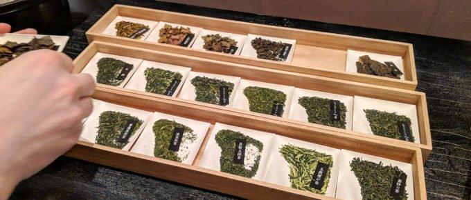 Higashiya Ginza-tea-choices